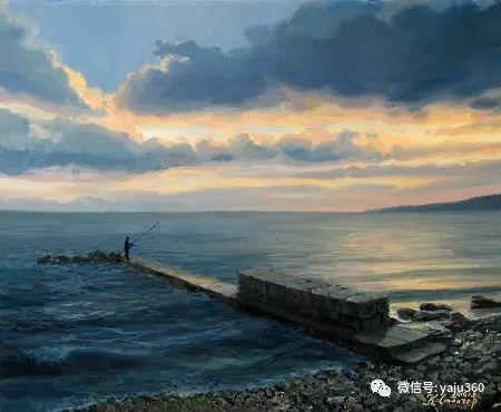 风景油画 保加利亚Kiril Stanchev作品插图93