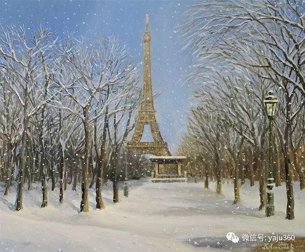风景油画 保加利亚Kiril Stanchev作品插图99