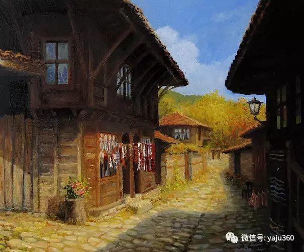 风景油画 保加利亚Kiril Stanchev作品插图103