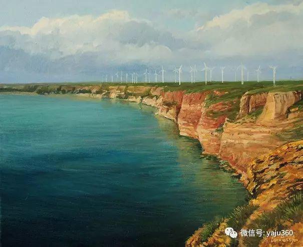 风景油画 保加利亚Kiril Stanchev作品插图111