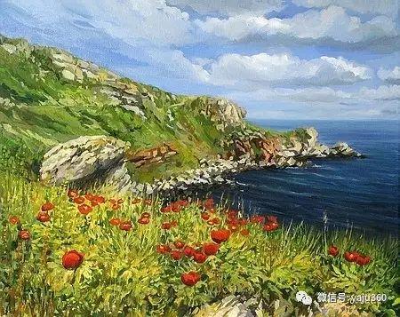风景油画 保加利亚Kiril Stanchev作品插图113