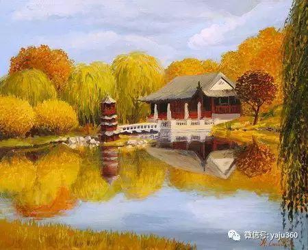 风景油画 保加利亚Kiril Stanchev作品插图115