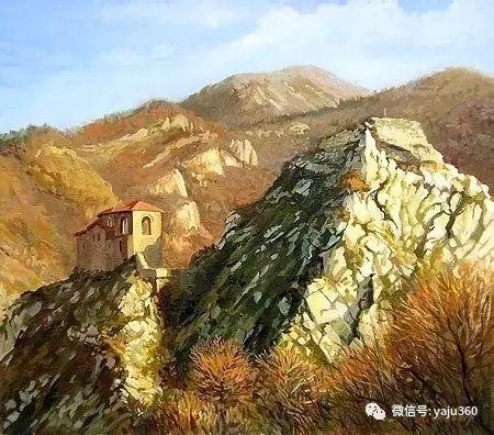 风景油画 保加利亚Kiril Stanchev作品插图117