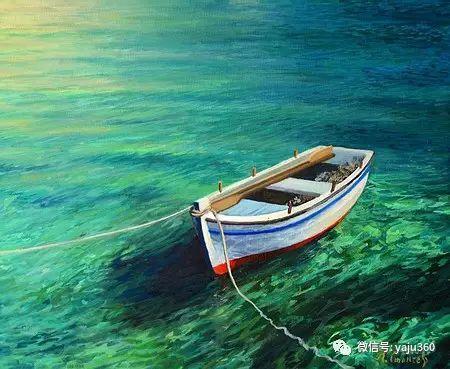 风景油画 保加利亚Kiril Stanchev作品插图119