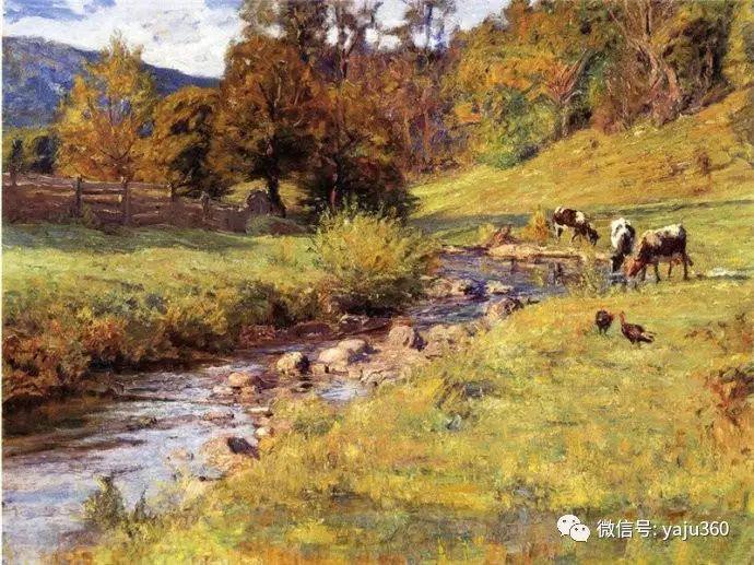 美国印象派画家斯蒂尔油画作品插图9
