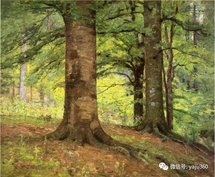 美国印象派画家斯蒂尔油画作品插图17