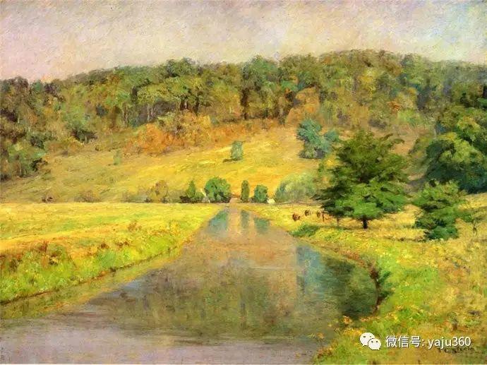 美国印象派画家斯蒂尔油画作品插图19