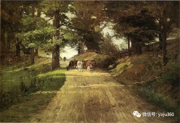 美国印象派画家斯蒂尔油画作品插图25