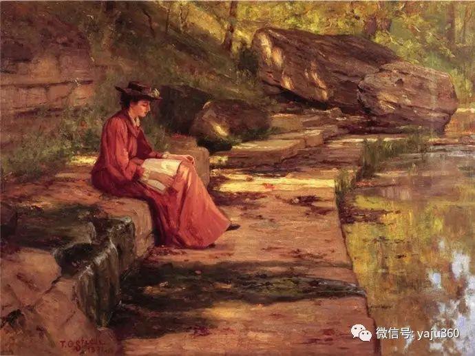 美国印象派画家斯蒂尔油画作品插图33