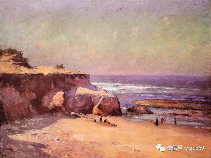美国印象派画家斯蒂尔油画作品插图39