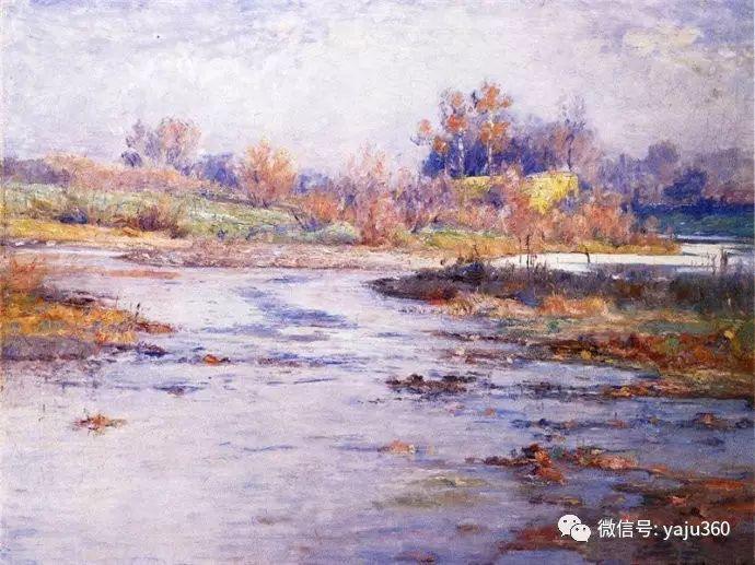 美国印象派画家斯蒂尔油画作品插图41