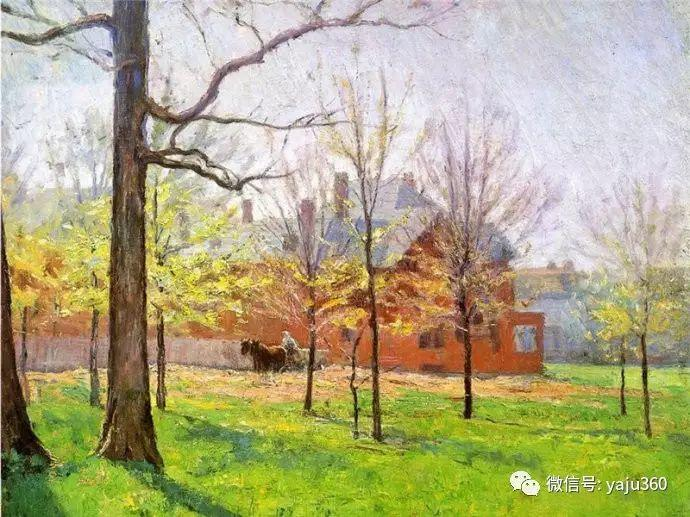 美国印象派画家斯蒂尔油画作品插图43