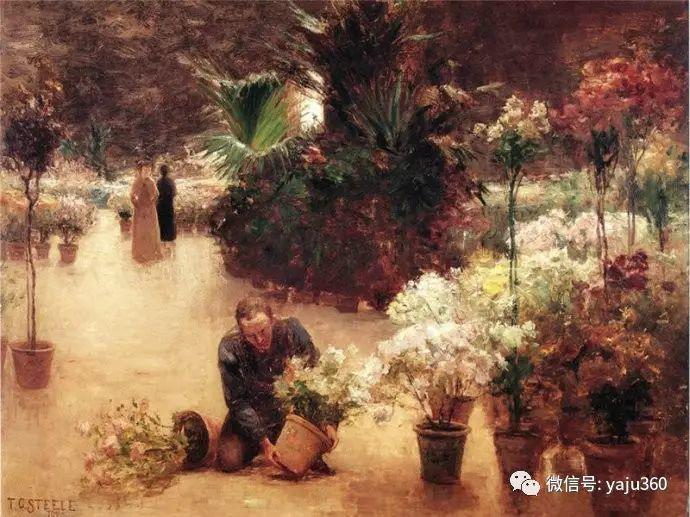 美国印象派画家斯蒂尔油画作品插图47