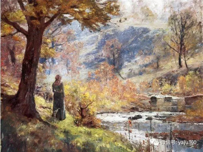 美国印象派画家斯蒂尔油画作品插图49