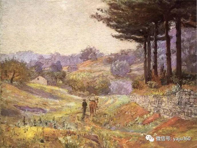 美国印象派画家斯蒂尔油画作品插图61