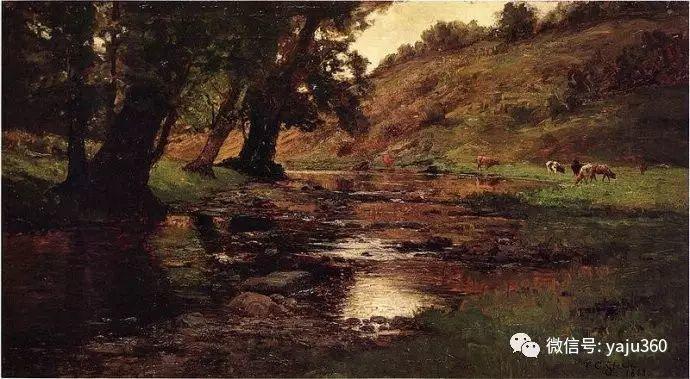 美国印象派画家斯蒂尔油画作品插图67