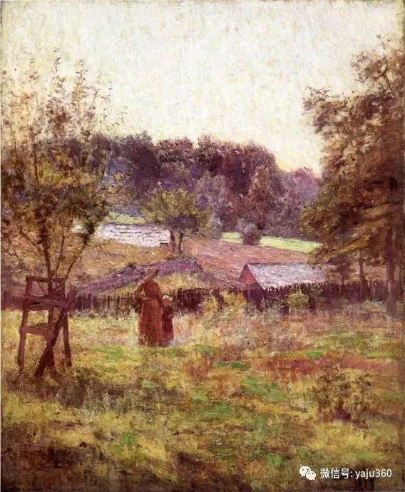 美国印象派画家斯蒂尔油画作品插图73