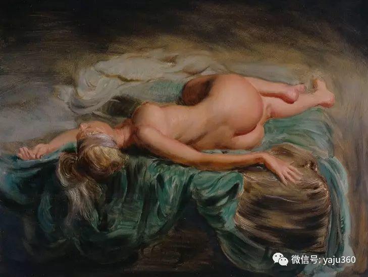 比利时艺术家Hans.Laagland绘画作品赏析插图5