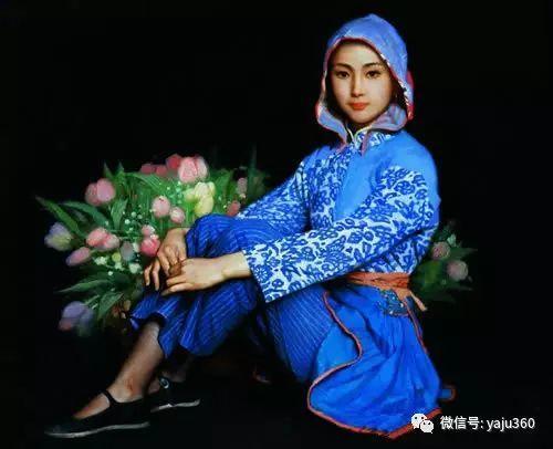 中国古典女性油画作品插图31