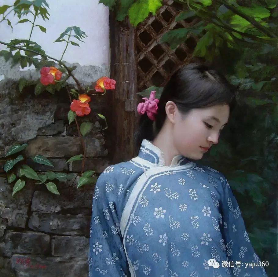 沈汉武人物油画作品插图1