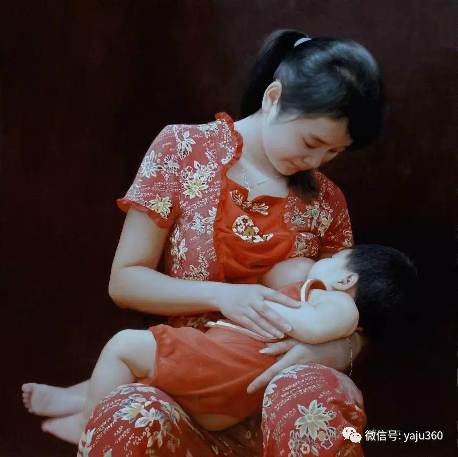 沈汉武人物油画作品插图19