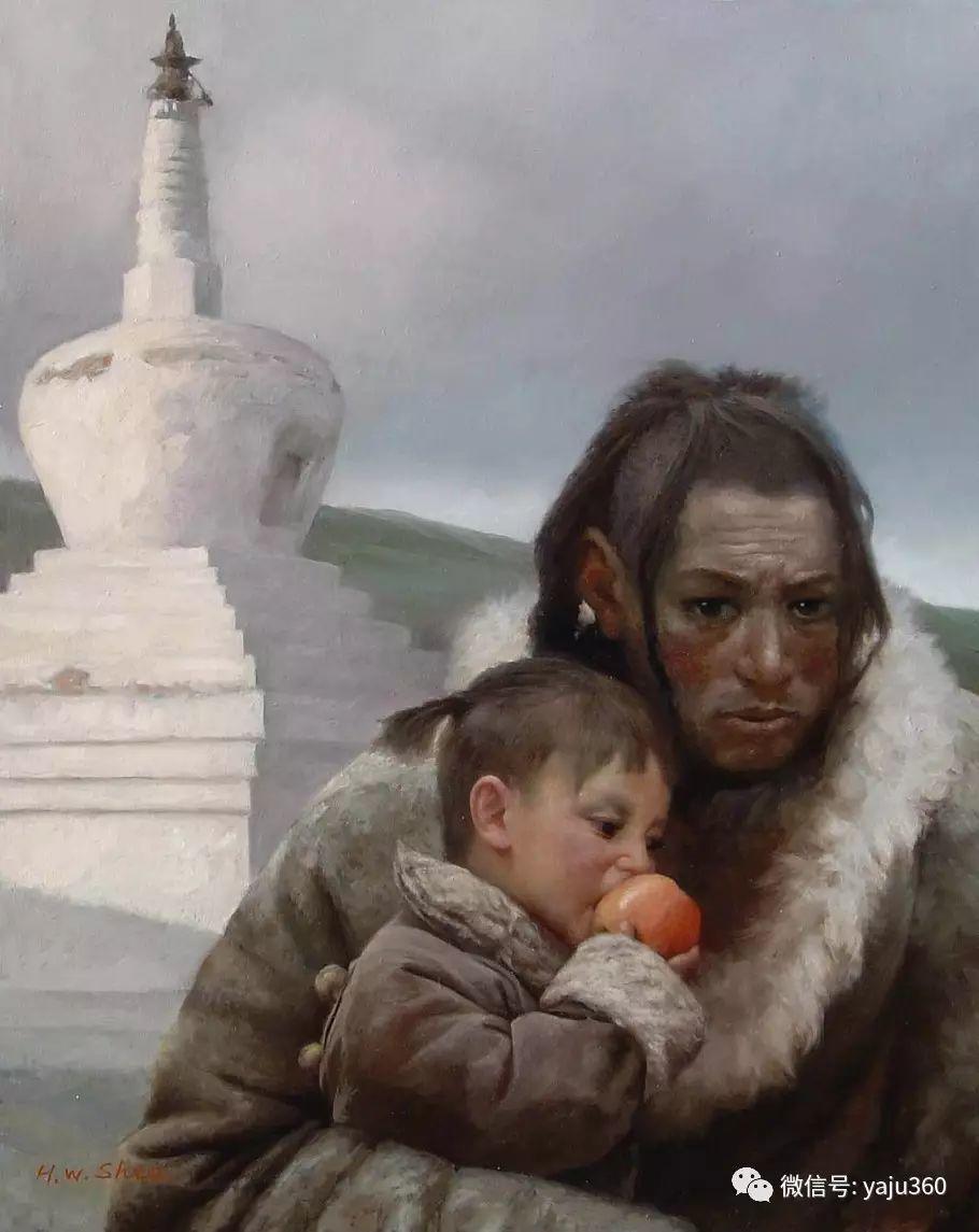 沈汉武人物油画作品插图107
