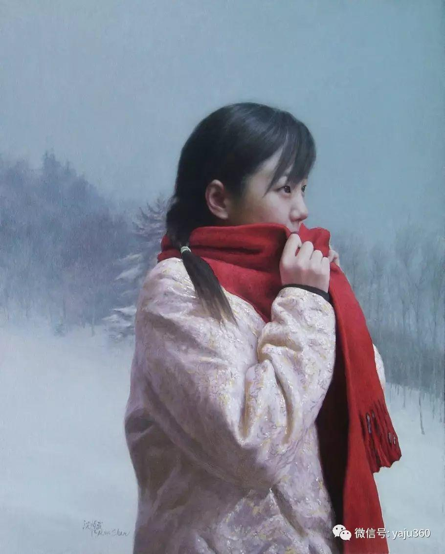 沈汉武人物油画作品插图159