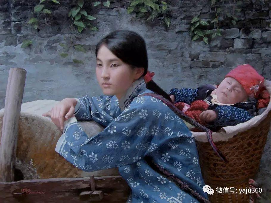 沈汉武人物油画作品插图161