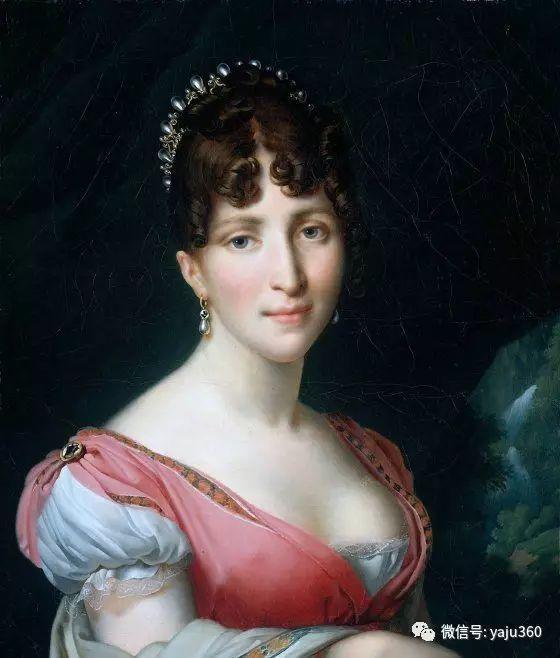 特里奥松《霍顿丝皇后肖像》插图1