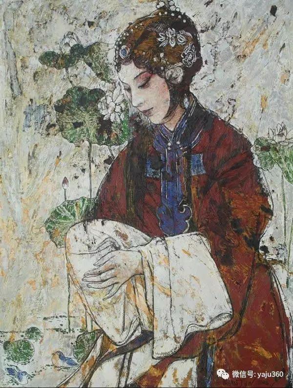 油画家笔下的梨园戏魂插图43