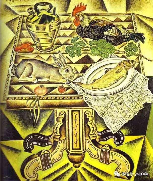 西班牙胡安·米罗(Joan Miró)油画作品插图3