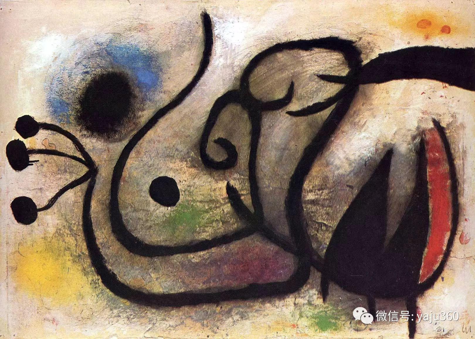 西班牙胡安·米罗(Joan Miró)油画作品插图7