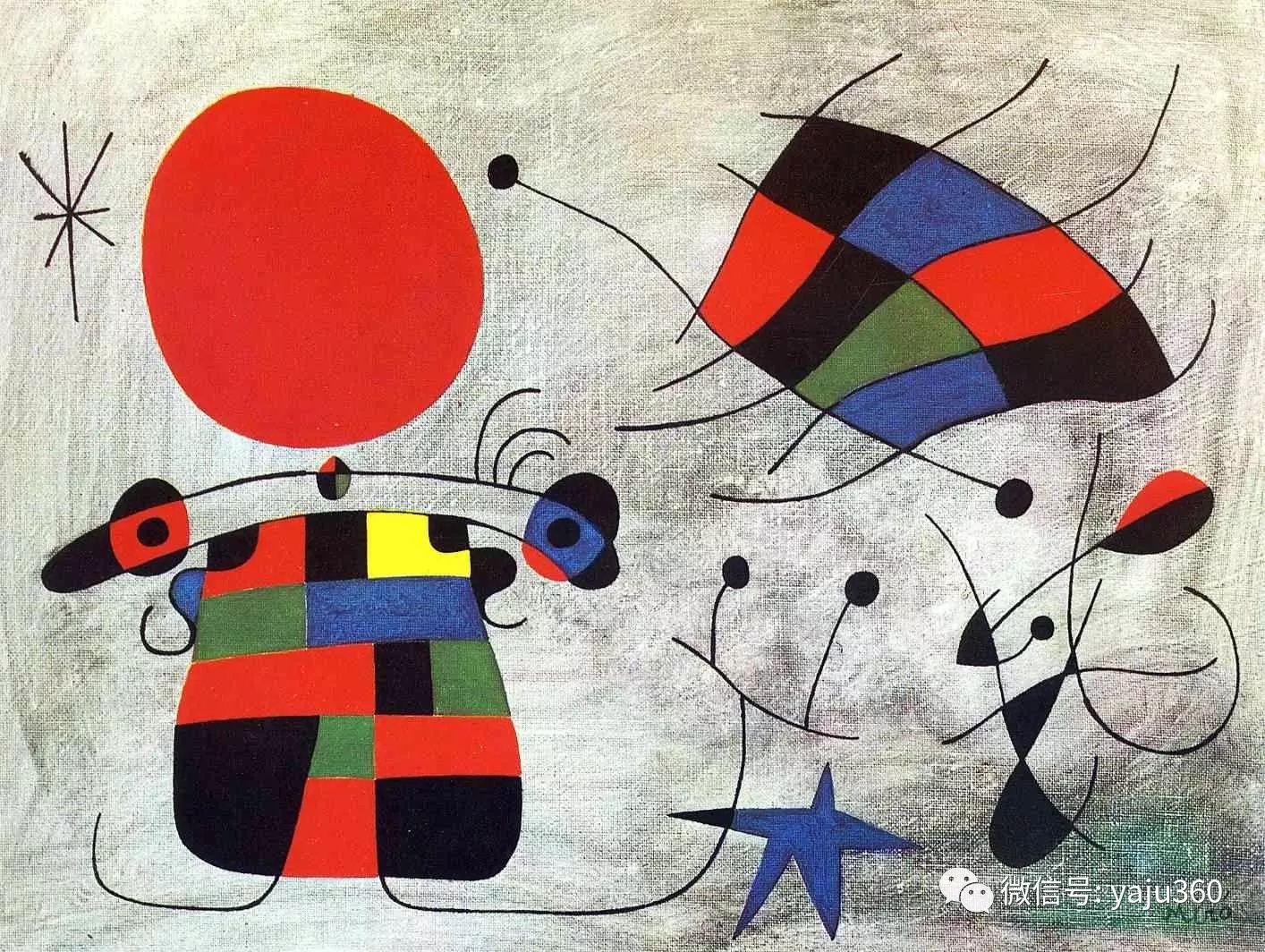 西班牙胡安·米罗(Joan Miró)油画作品插图15