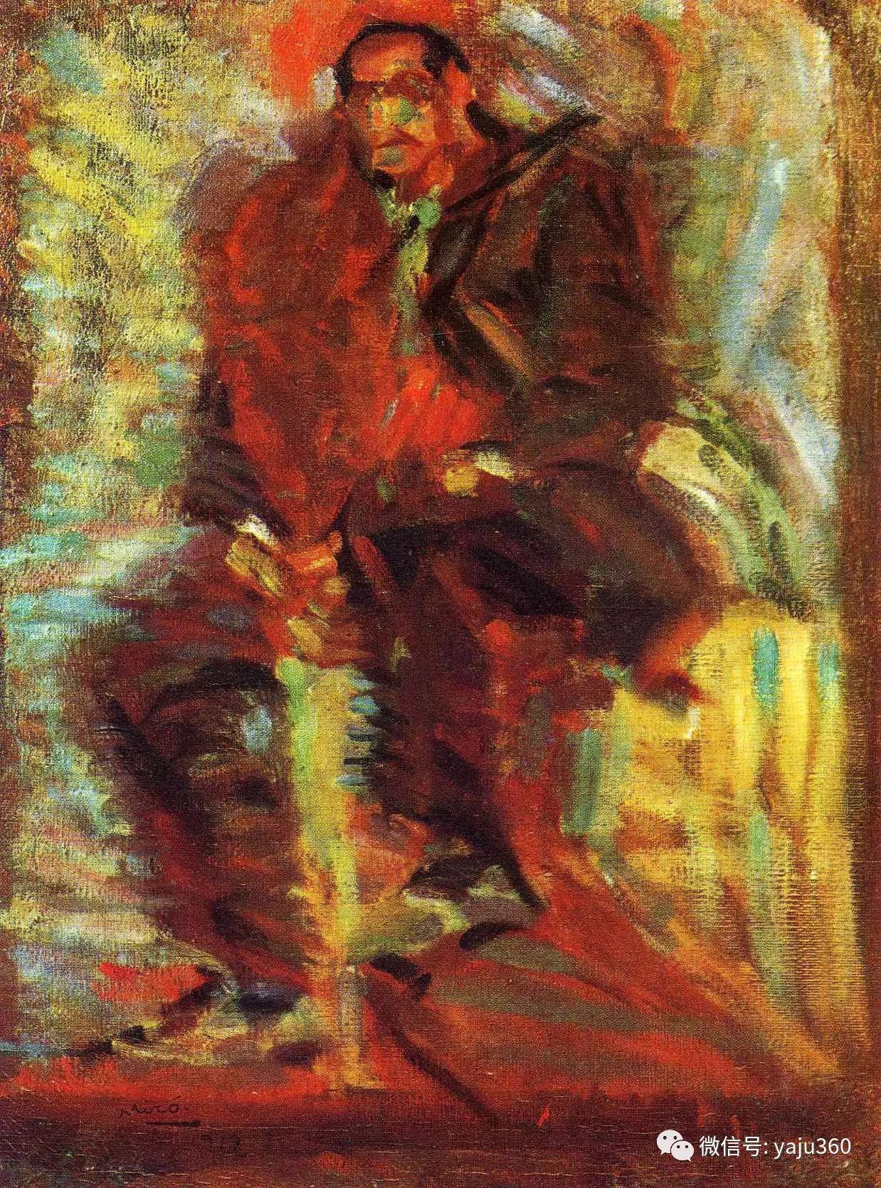 西班牙胡安·米罗(Joan Miró)油画作品插图23