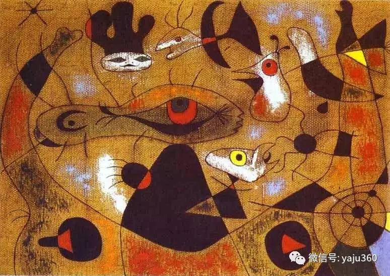 西班牙胡安·米罗(Joan Miró)油画作品插图31