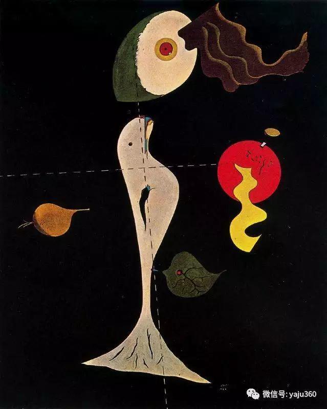 西班牙胡安·米罗(Joan Miró)油画作品插图33