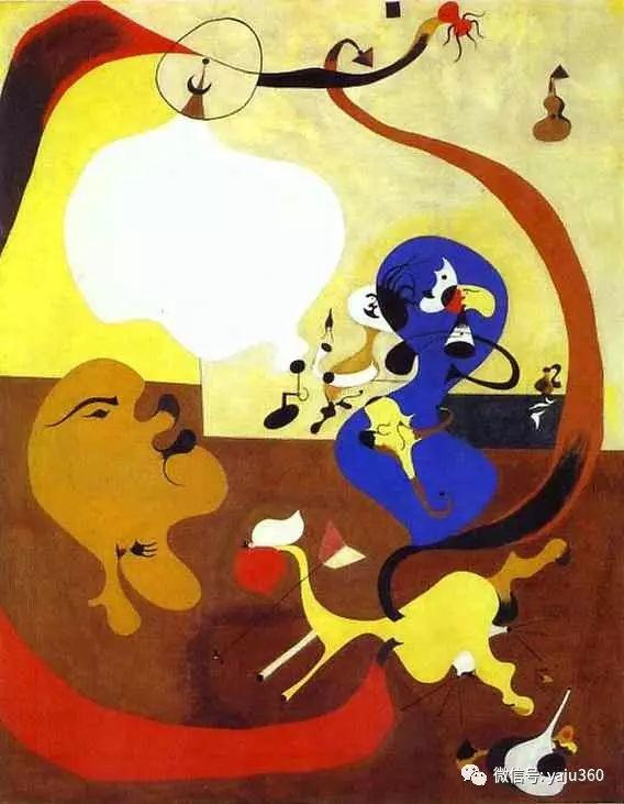 西班牙胡安·米罗(Joan Miró)油画作品插图41