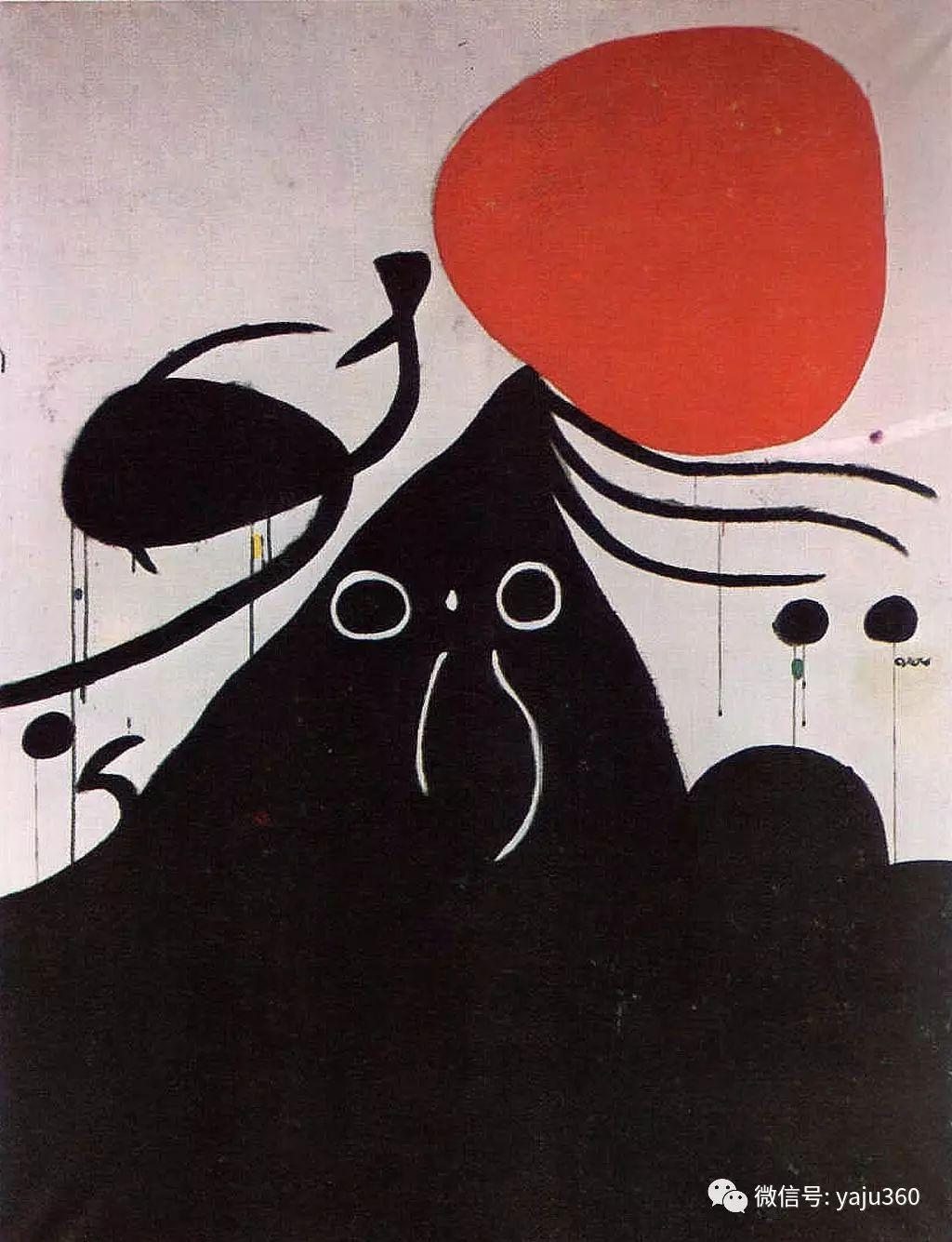 西班牙胡安·米罗(Joan Miró)油画作品插图61
