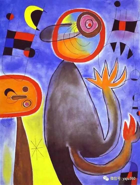 西班牙胡安·米罗(Joan Miró)油画作品插图65