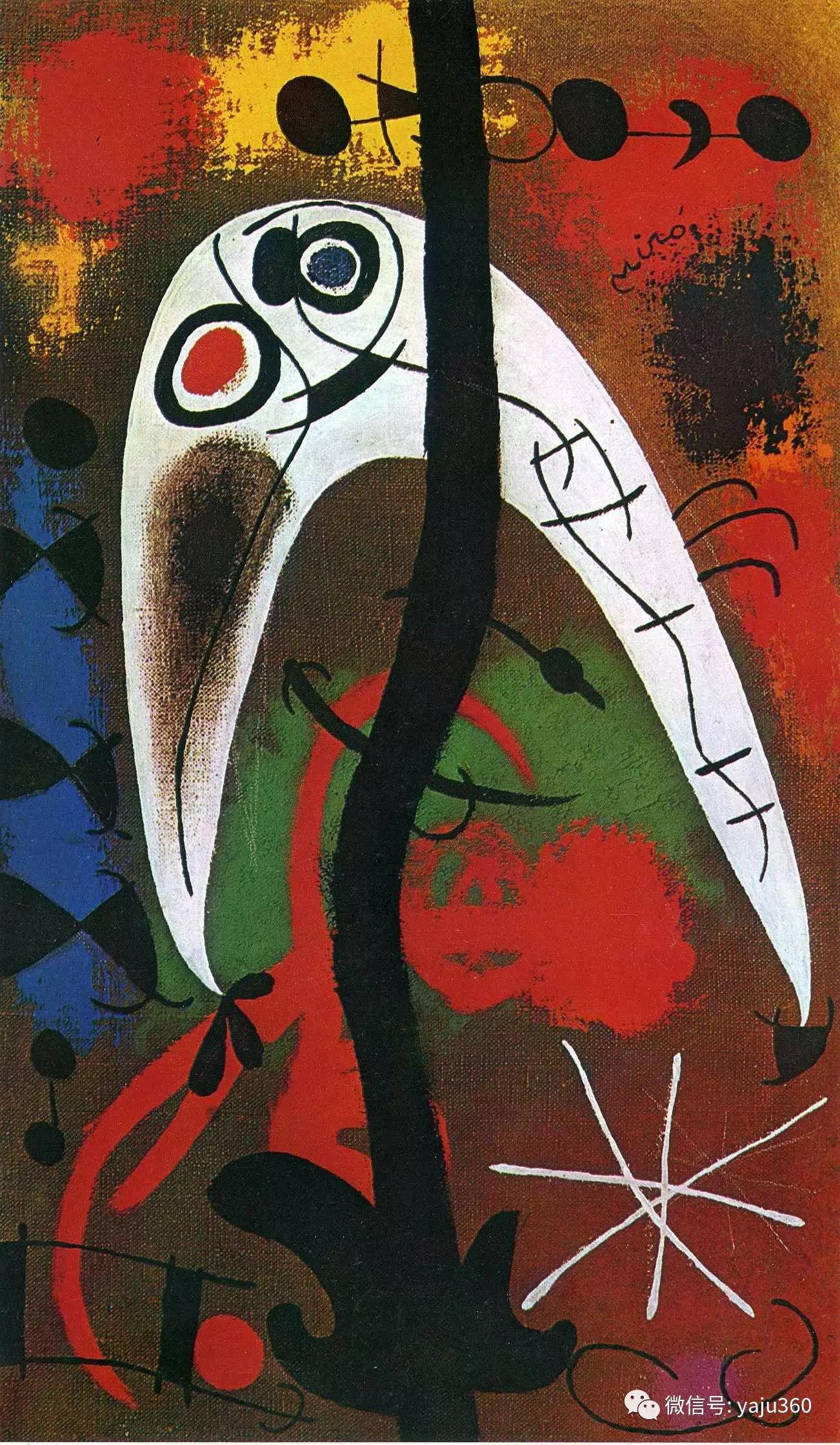 西班牙胡安·米罗(Joan Miró)油画作品插图69