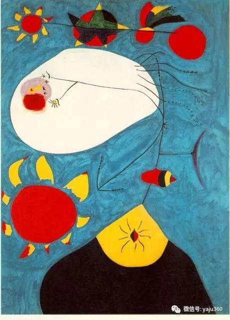 西班牙胡安·米罗(Joan Miró)油画作品插图71