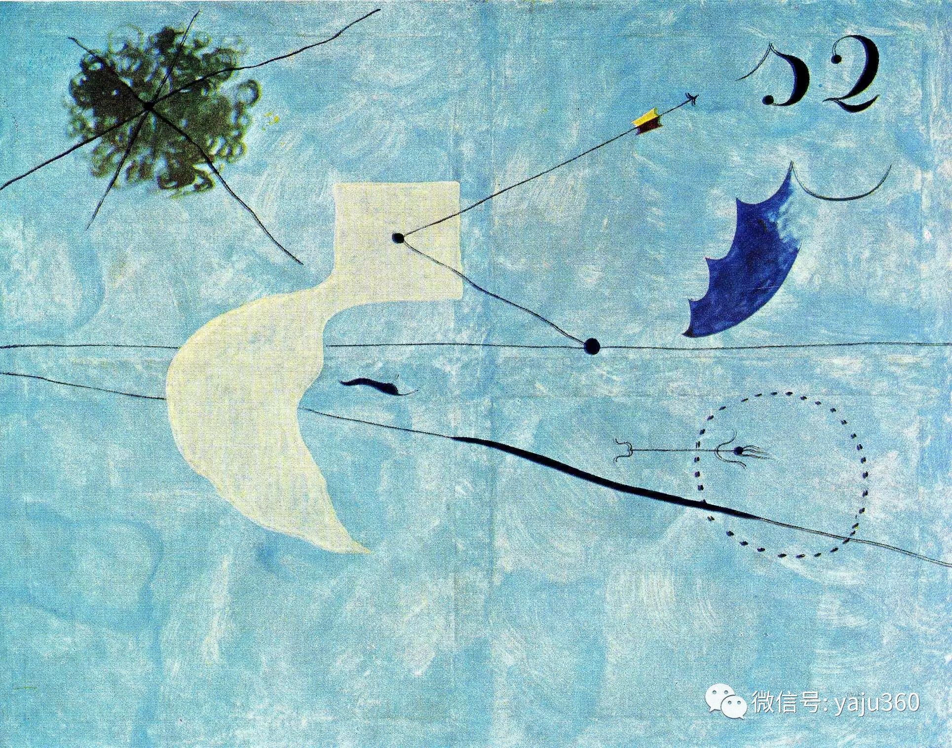 西班牙胡安·米罗(Joan Miró)油画作品插图75