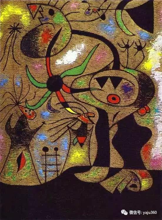 西班牙胡安·米罗(Joan Miró)油画作品插图77