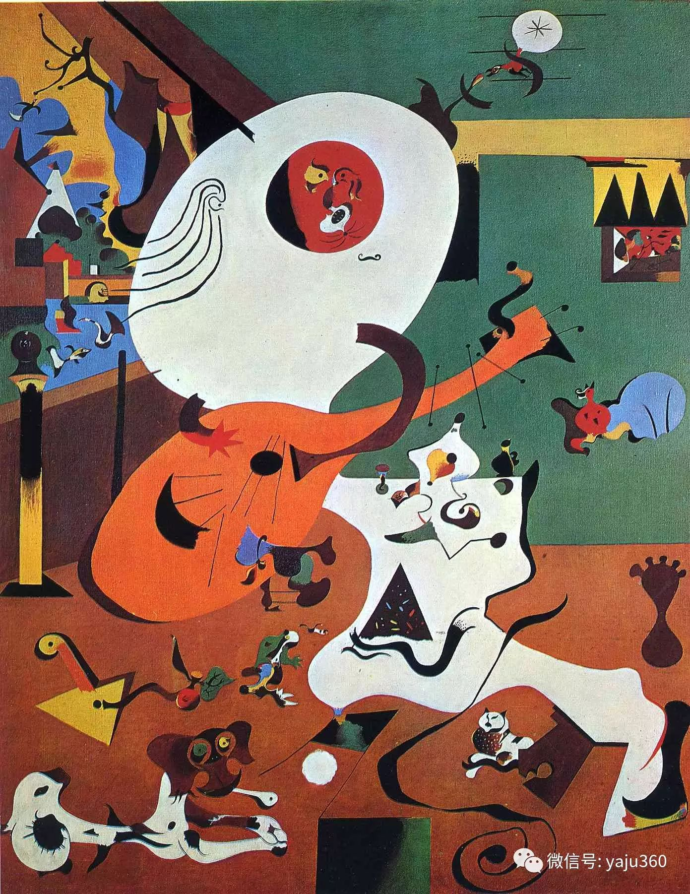 西班牙胡安·米罗(Joan Miró)油画作品插图79