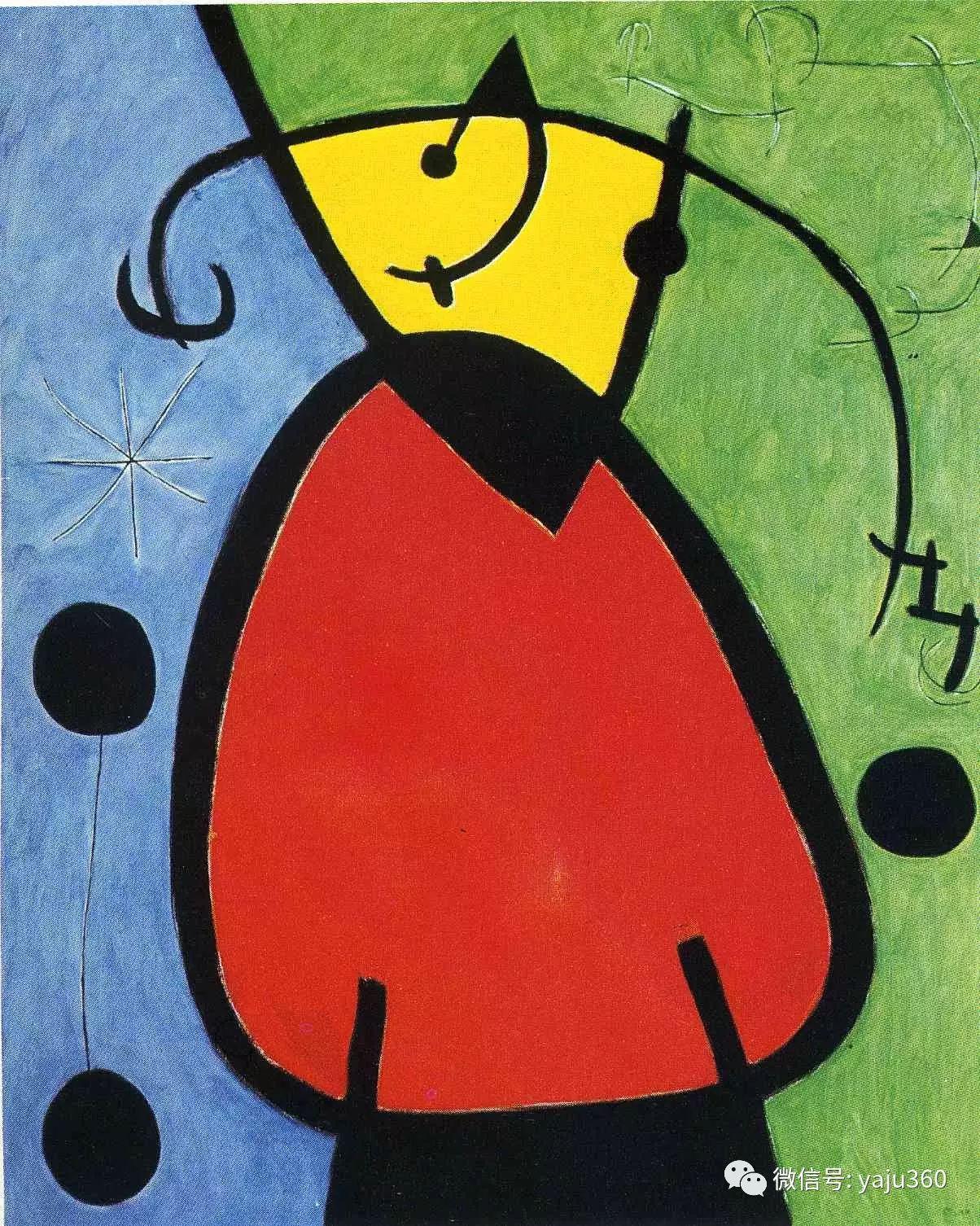 西班牙胡安·米罗(Joan Miró)油画作品插图81
