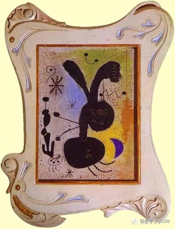 西班牙胡安·米罗(Joan Miró)油画作品插图85