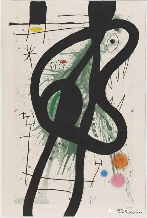 西班牙胡安·米罗(Joan Miró)油画作品插图87