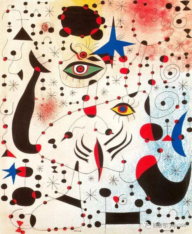 西班牙胡安·米罗(Joan Miró)油画作品插图89