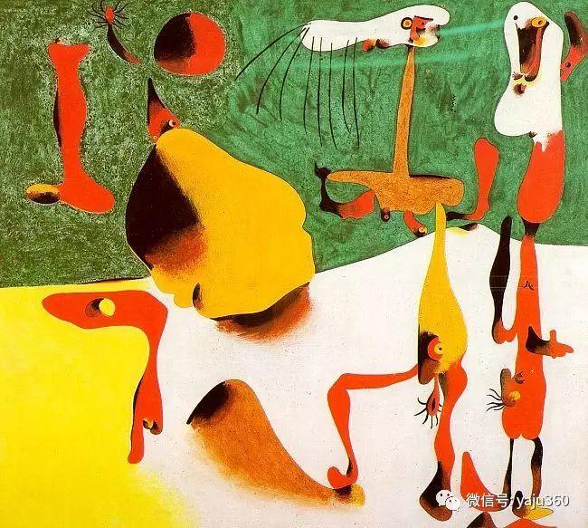 西班牙胡安·米罗(Joan Miró)油画作品插图97