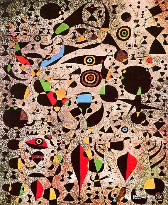 西班牙胡安·米罗(Joan Miró)油画作品插图101